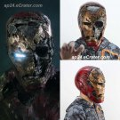 Zombie Iron Man Helmet Spider-Man Far From Home Cosplay Tony Stark Latex Halloween Party Prop