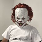 2019 Joker Pennywise Face Stephen King IT Chapter 2 Horror Cosplay Helmet Halloween Party Props