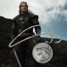 2019 The Witcher Geralt of Rivia Wolf Medallion Necklace Henry Cavill Props Cosplay Christmas Gift