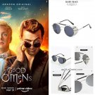 2019 Good Omens Steampunk Glasses Cosplay Prop Devil Crowley Outdoor Sunglasses