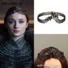 2019 Game of Thrones Sansa Stark Crown Tiara Headbands Halloween Props Cosplay
