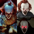 2019 Joker Pennywise LED Mask Stephen King IT Chapter 2 Horror Cosplay Helmet Halloween Party Props