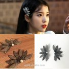 Hotel DEL LUNA IU Hair Clip Korean Star Jang Man-Wol Fashion Hair Pin TV Drama