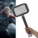 Avengers 4 Endgame Thor Hammer Captain American Cosplay Mjolnir Marvel Superhero Weapon Props