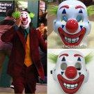 2019 Joker Clown Face Cosplay Arthur Fleck Jaoqin Phoenix PVC Horror Movie Halloween Prop