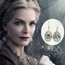 2019 Maleficent 2 Queen Ingrith Pearl Earrings Michelle Pfeiffer Prop Cosplay Christmas Gift