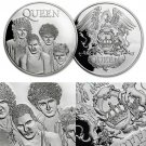 Queen Freddie Mercury British Rock Band Challenge Coin Commemorative Coin Fans Souvenir Gift