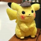 28cm Pikachu Plush Toy Stuffed Toy Detective Pikachu Japan Movie Anime Toys Gift
