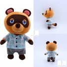 Animal Crossing Tom Nook Plush Toy Raccoon Soft Stuffed Figure Doll Toys Gift