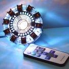 Iron Man Remote Control MK1 Reactor LED Tony Stark Heart Light Decoration Cosplay Avengers EndGame