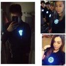 Iron Man Armor Reactor Cosplay Prop Tony Stark Heart T-Shirt Multiple Lighting Avengers Endgame