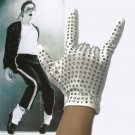2020 Michael Jackson BILLIE JEAN Right Hand Shiny Glove Halloween Punk Hip Hop Prop Cosplay