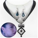 2021 The Nevers Amalia True Necklace Earrings Prop Cosplay Laura Donnelly Party Gift