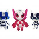Tokyo Olympic Game 2020 Anime Plush Toy Mascot Miraitowa Someity Soft Stuffed Doll Gift