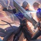 Final fantasy fan art print Duel