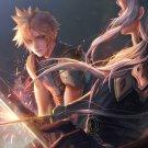Final fantasy fan art print  Fate
