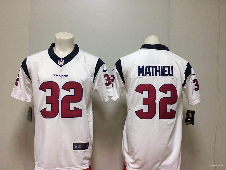 huge discount 21cb7 654bc Houston Texans 32 Tyrann Mathieu Football Jerseys
