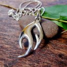 Design Flame Pendant, 925 Sterling Silver, Unisex Pendant, Handmade Pendants