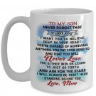 Great Gift Ideas Mommy To My Son Coffee Mug Print, Best for Birthday Anniversary