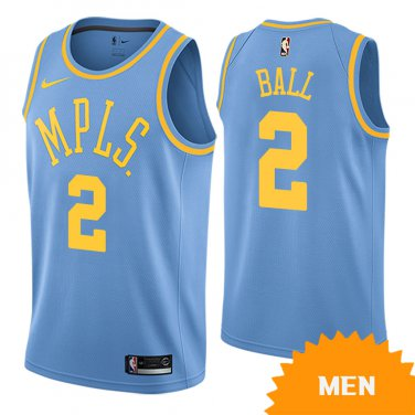 sports shoes 39adf 8d1ac Men's Los Angeles Lakers Lonzo Ball Classic Edition Jersey ...