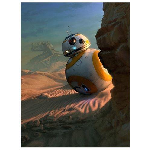 Star Wars: The Force Awakens Sunset Vigil by Jerry Vanderstelt Canvas Giclee #82