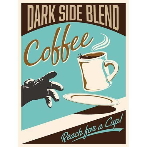 Star Wars Dark Side Blend by Steve Thomas Gallery-Wrapped Giclee Art Print