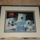 Limited Edition COCA COLA Polar Bear Animation Art w/ COA, Artist Proof 145/200