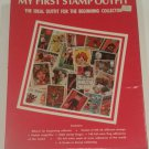 Vintage My First Stamp Outfit, 1983 Stamp Collecting Kit