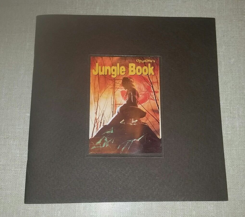 Jungle Book Theater Lyric Booklet with Music CD Opus One from Amsterdam, 1996