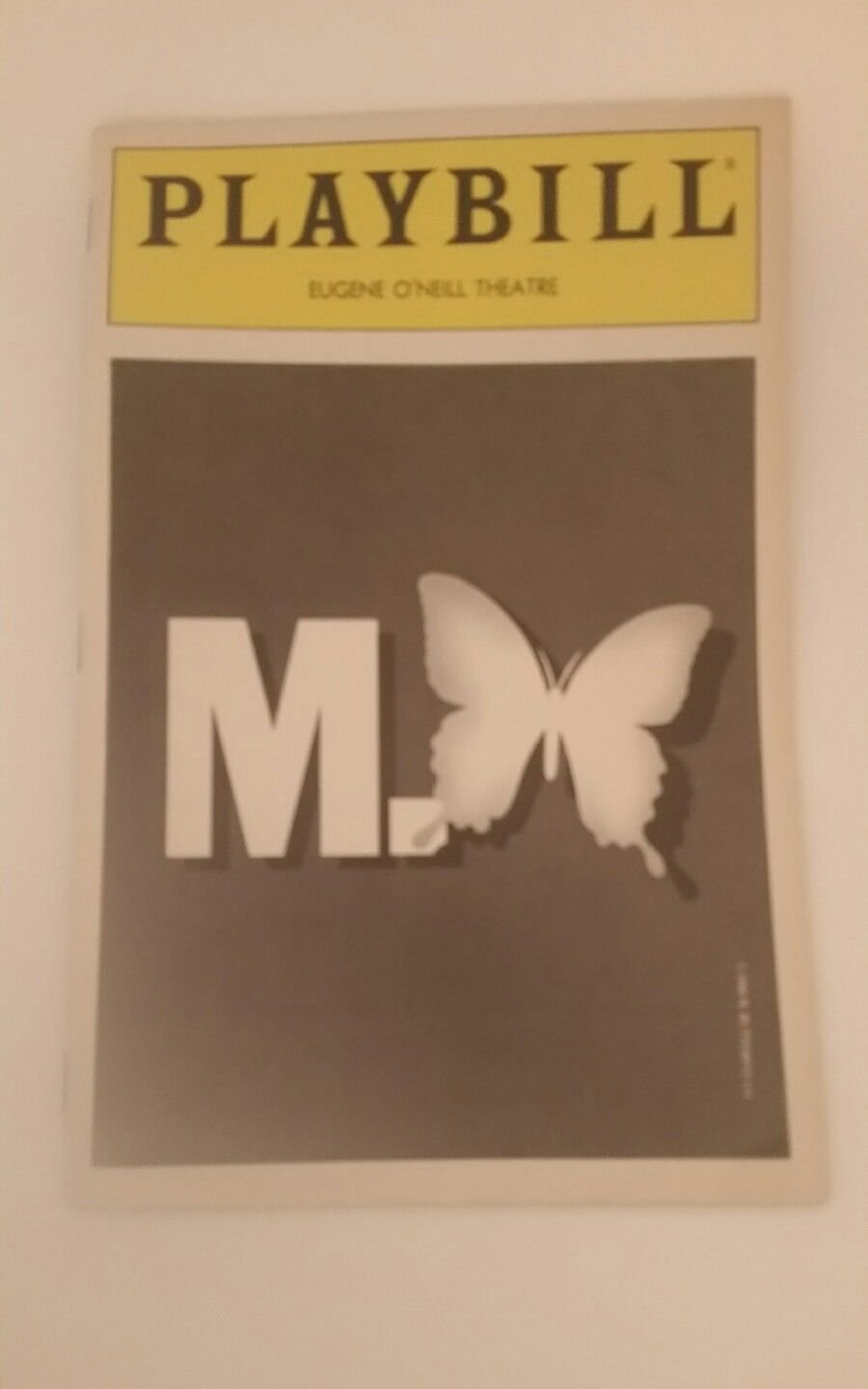 Madame Butterfly Playbill Eugene O'Neill Theatre with Jul 29, 1989 Stub, Signed
