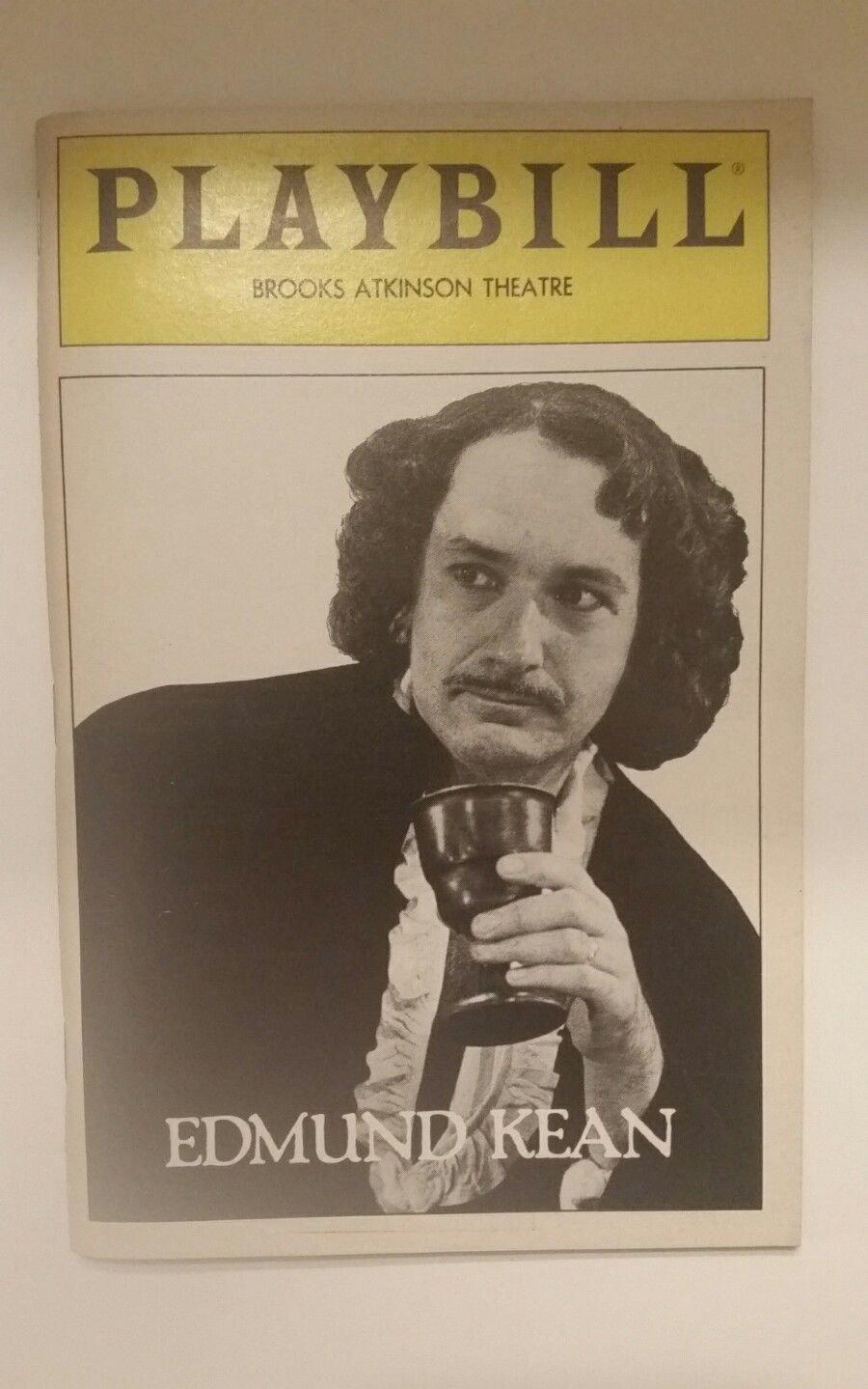 Edmund Kean Playbill at Brooks Atkinson Theatre September 1983 Ben Kingsley