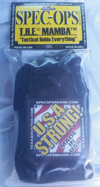 Spec-Ops Brand T.H.E. Mamba Black Three Point Rifle Sling