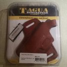 Tagua BH1-413 Thumb Break Belt Holster Sig Sauer P250 Brown Left Hand