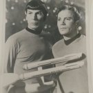 Captain Kirk and Dr. Spock 8x10 Photo