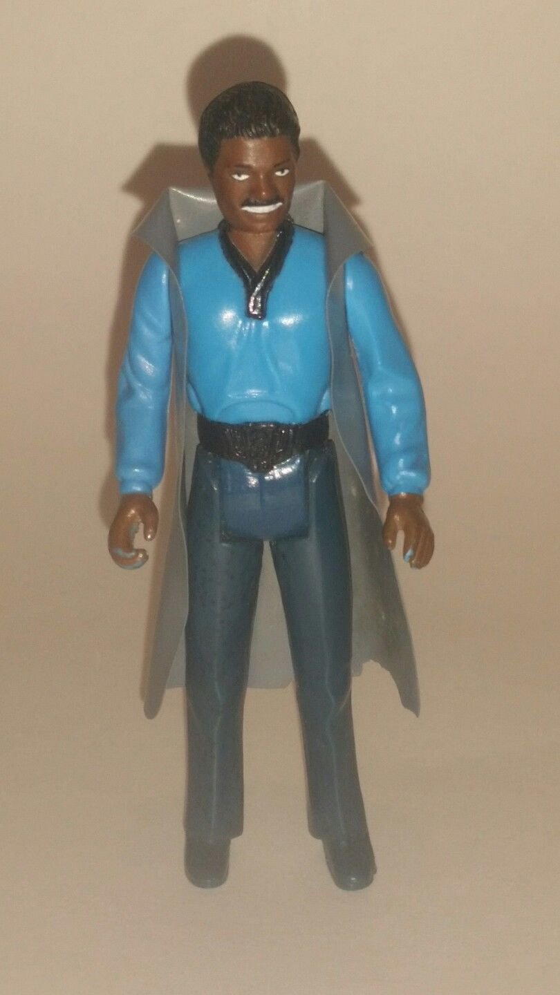 Vintage Kenner Star Wars Empire Strikes Back Lando Calrissian Action Figure 1980