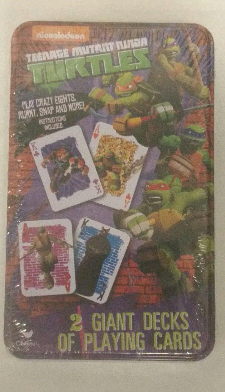 Teenage Mutant Ninja Turtles 2 Giant Decks of Playing Cards