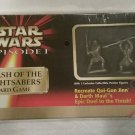 Star Wars Episode 1 Clash Of The Lightsabers Card Game Sealed In Box