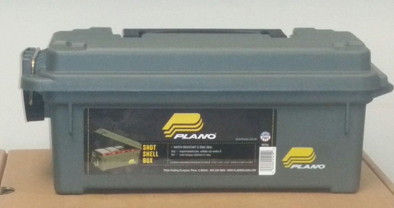 Plano Shot Shell Box Md: 121202 Ammo Can