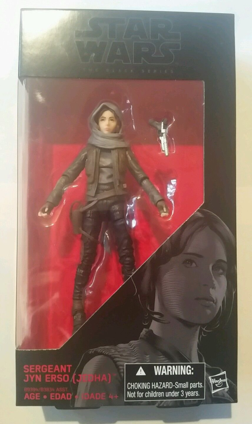 """Star Wars The Black Series Rogue One Jyn Erso (Jedha) 6"""" Action Figure"""