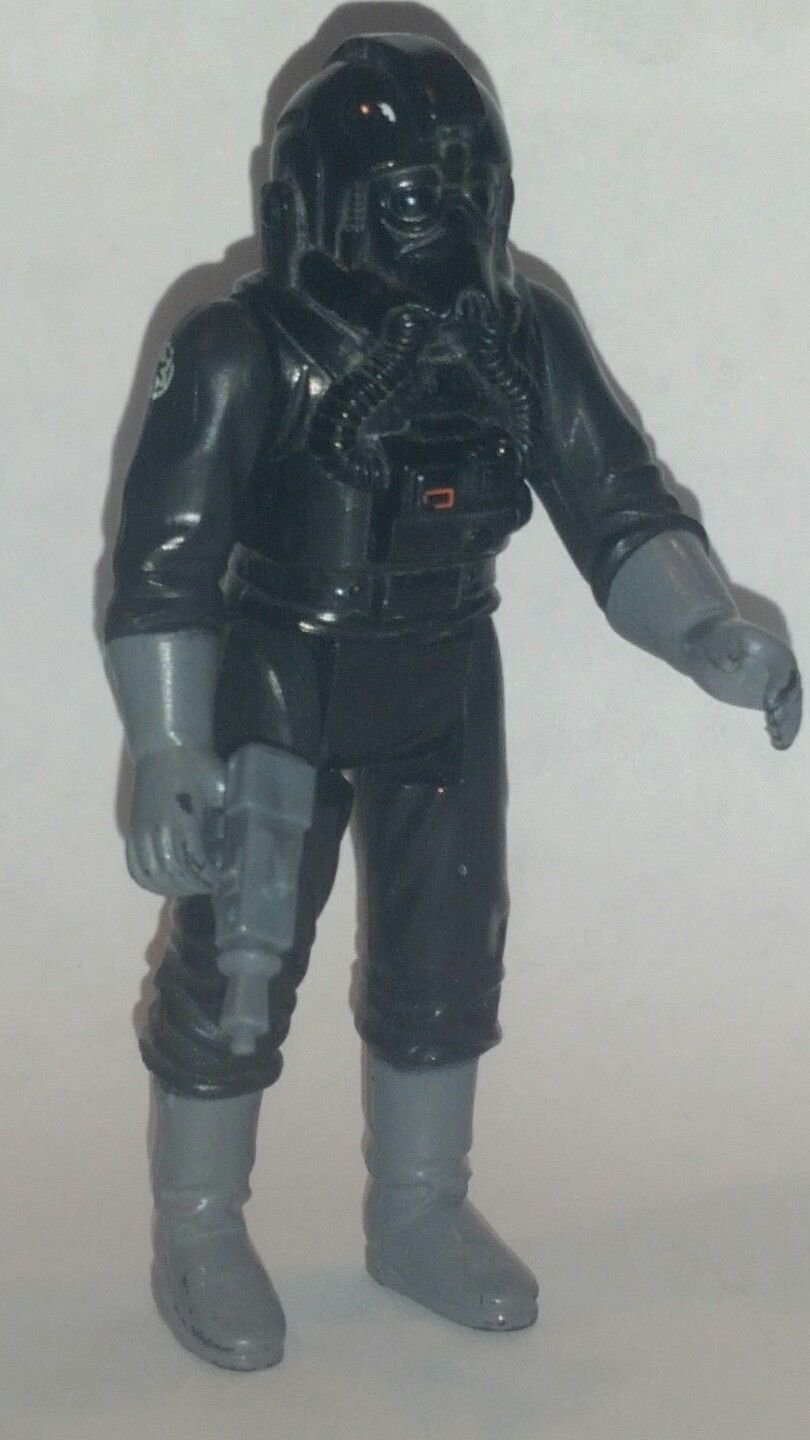 Vintage Kenner Star Wars The Empire Strikes Back Tie Fighter Pilot Action Figure