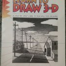 Learn to Draw 3-D by Doug Dubosque Paperback