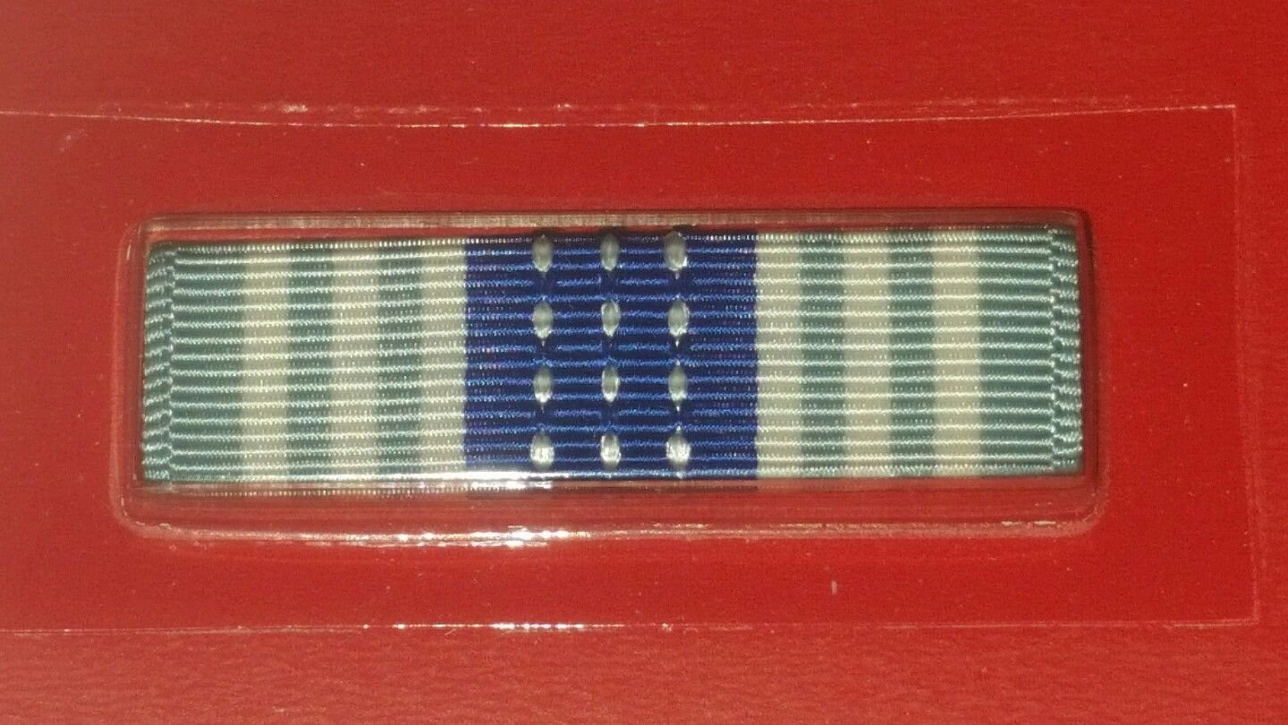 Vanguard USAF Air Force Overseas Short Tour Ribbon New in Package