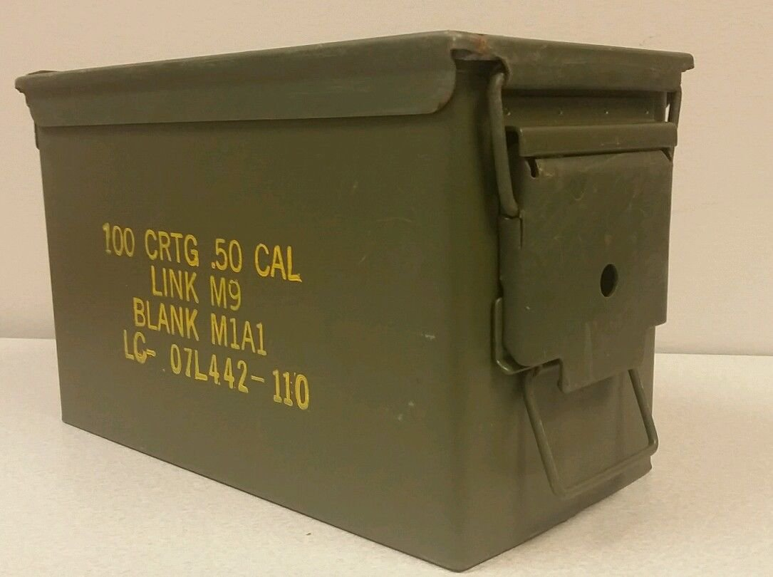 Ammo Can .50 Cal M2A1, Good Condition
