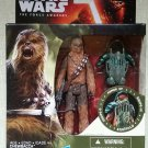 Star Wars The Force Awakens 3.75 Inch Chewbacca with Forest Mission Armor