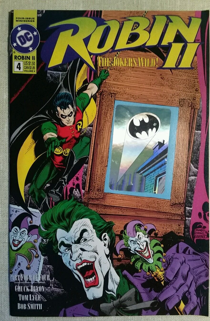ROBIN II The Joker's Wild # 4; DC comic 1991, Chill Factor