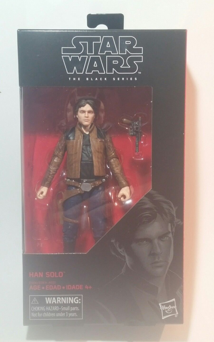Star Wars Black Series Han Solo #62 Han Solo Movie