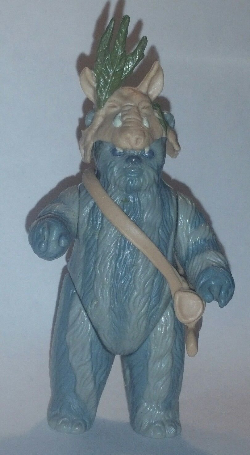Vintage Kenner Star Wars Return of the Jedi Teebo Action Figure, 1984