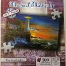 The Lighthouse Art of Michael Matherly Evening Lights 500 Piece Puzzle, 2007