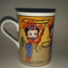 Betty Boop Danbury Mint Betty On The Ropes Mug Coffee Cup Glass Souvenir