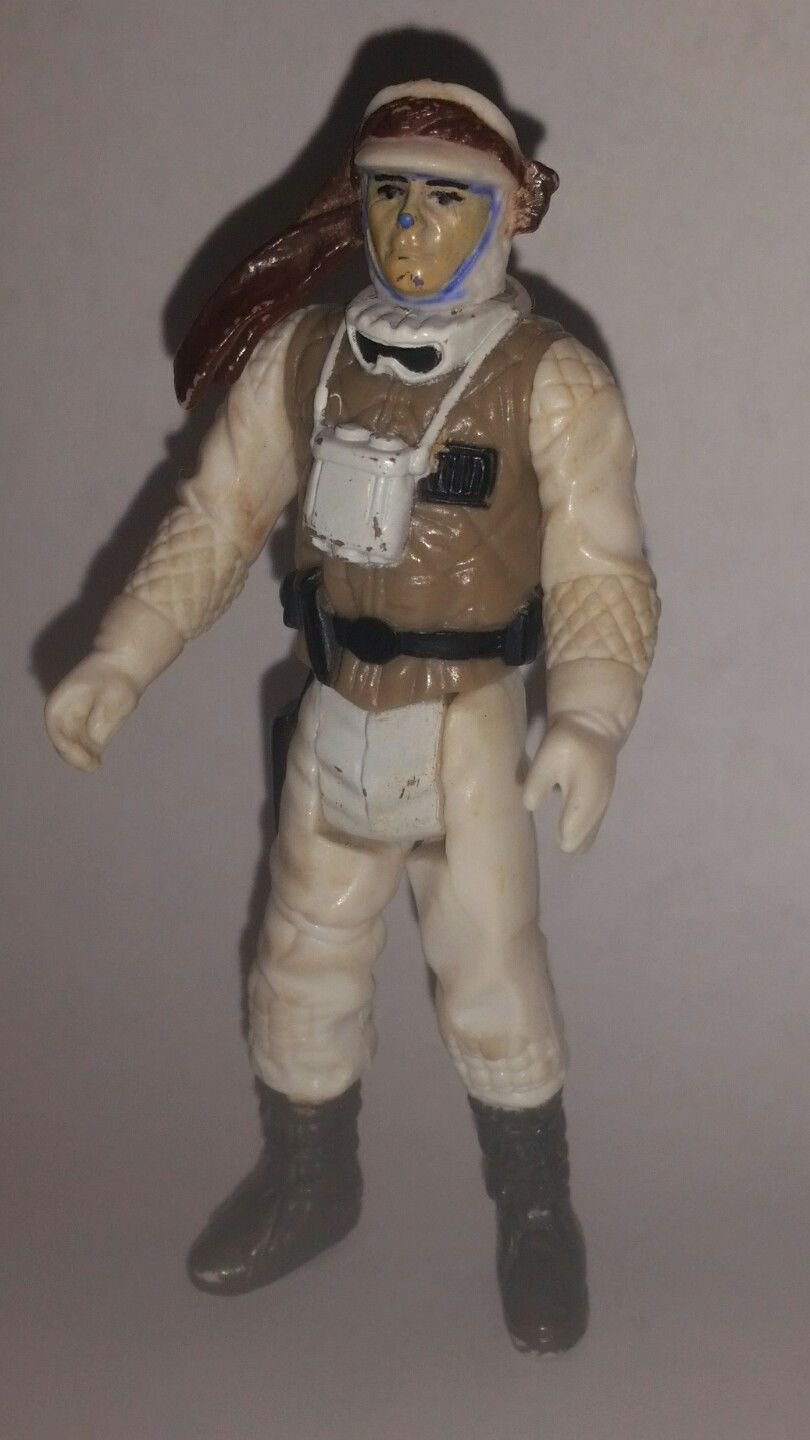 Vintage Kenner Star Wars Empire Strikes Back Luke Skywalker Hoth Action Figure